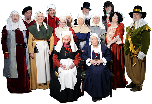 Dressing in period costume is not compulsory for membership of the Paston Heritage Society!