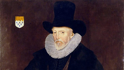 Sir William Paston, family patron at the height of its power and influence
