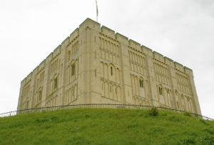 Kett's body was suspended from Norwich Castle.