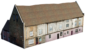 Robert Toppes' home and warehouse, now known as Dragon Hall, in King Street.