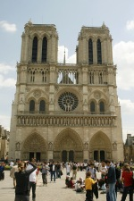 Notre Dame de Paris, the cathedral church of Paris. - click to view the full sized version