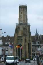 The historic centre of Calais. - click to view the full sized version