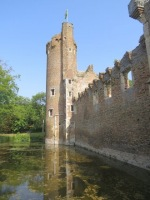Much of Fastolf's brick-built castle remains in this century - click to view the full sized version